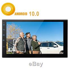 10.0 Inch Android 7 Double 2 Din Car Gps Navi Stereo Bt 4-core 2g + 32g Wifi