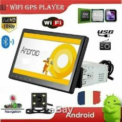 10.1 1din Android Bluetooth Car Gps Navi Mp5 Player Touch Screen + Camera