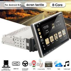 10.1 '' 8-core 1din Android 8.0 Wifi Car Gps Navi Stereo Bluetooth Mp5 Dab +