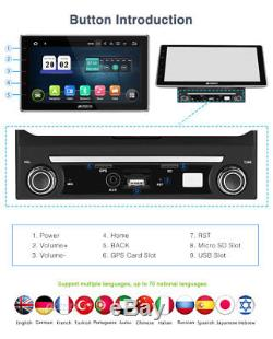 10.1 Android 7.1 Ram2gb Car Stereo Car Audio Player 2 Din Gps Navi Obd2 Dab +