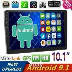 10.1 Android 9.1 Autoradio Stereo Mp5 Gps Navi Double 2din Wifi