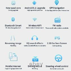 10.1 Android Autoradio Stereo Gps Mp5 Player Navi Double 2din Wifi + Camera