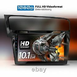 10.1 Autoradio With Android 10 Suitable For Vw Golf7 2013-2017 2gb Wifi Navi