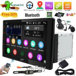 10.1 Double 2din Android Touchscreen Car Gps Sat Navi Dab + Usb Sd Camera