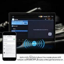 10.1 LCD 1din Android Quad Core Car Gps Navi Mp5 Player Bt Wifi Camera