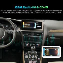 10.25 Android 10 Ips 4g Autoradio Carplay Tpms Wifi Dab+ Navi Audi A4 2009-2016
