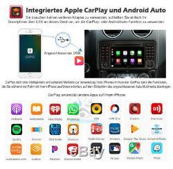 10 7 Android Car Gps Navigation Navi Mercedes Benz ML / Gl-class W164 X164