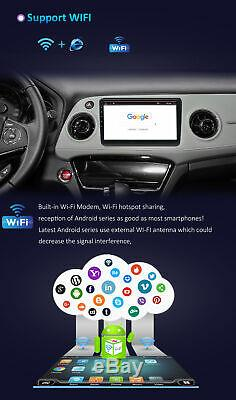 10pouces Radio 10.0 Android Gps Navi Screen Camera Link Touch 4g Mirror + 64g