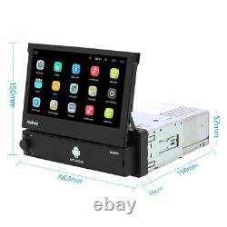 1 Din 7'' Autoradio Gps Navi Mp5 Usb Fm Bluetooth Android Wi-fi Touchscreen 8.1