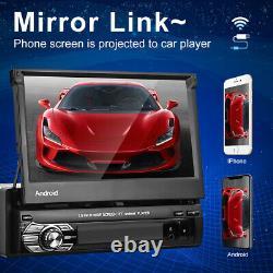 1 Din Android 10.1 Autoradio Gps Navi Bluetooth 7'' Touch Screen Mp5 Usb Fm Wifi