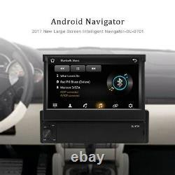 1 Din Android 8.1 Autoradio Gps Navi Bluetooth 7'' Touch Screen Wifi Mp5 Usb Fm