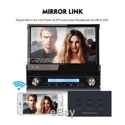 1 Din Detachable Car Radio Android 8.0 Dab + Wifi Gps Obd Dvb 4g Dvr Bt Navi CD Sd