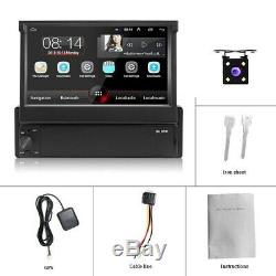 1din Car Gps Navi Android 8.1 Wifi Touch Screen Fm Usb Bt Mp5 Link Mirror