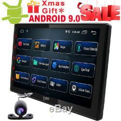 2 Din 10.1 Iu Ips Android 9.0 Car Gps Navigation Navi Usb Wifi Dab + Car