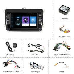 2 Din Android 8.1 7 Autoradio Gps Navi Wifi Bluetooth For Vw Golf Passat Polo