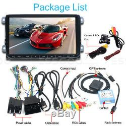 2 Din Car 9 Android 2 + 32g Gps Navi + Camera For Vw Golf 5 Passat Tiguan