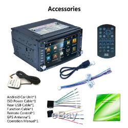 2 Din Car Gps Navi Stereo Radio Car DVD Mp5 Player Fm / Rds Us Bluetoo