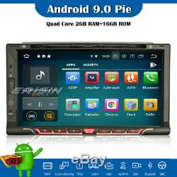 2 Din Car Radio Dab + 10.0 Android Gps Wifi Dvr Tnt Obd Bluetooth Navi Rds CD Rds