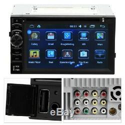 2din 6.2 Touch Screen Car Stereo Car 1080p Car Gps Navi Bt Fm To