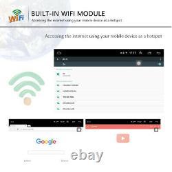 2din 8 Autoradio Android Gps Navi Wifi Fm For Vw Polo Passat Touran Golf Skoda