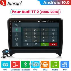 2din 9 Android 10.0 Autoradio Gps Navi Dab Dsp For Audi Tt Mk2 8j 2006-2014
