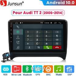 2din 9 Android 10.0 Gps Radio Navi Dab+ Dsp For Audi Tt Mk2 8j 2006-2014
