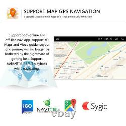 2din 9 Android 8.1 Autoradio Gps Navi Wifi Fm For Vw Passat Golf 5 Polo Tiguan