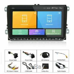 2din 9 '' Autoradio Android 6.0 Navi Gps Bt Wifi For Vw Golf 5 Passat Polo Caddy