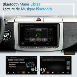 2din 9 Autoradio Rds Android Gps Navi Camera For Vw Golf 5 6 Plus Passat Touran