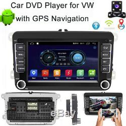 2din Android 8.1 Car Gps Navi Bluetooth For Vw Golf Polo Passat 5 Caddy