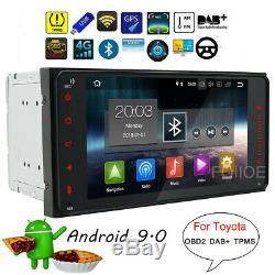 2din Android 9.0 Car Gps Navi For Toyota Corolla Vios Hilux Prado Rav4