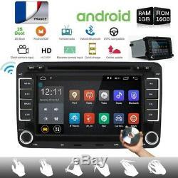 2din Car DVD Android 7.1 Camera + Gps Navi For Vw Golf Polo Passat Touran