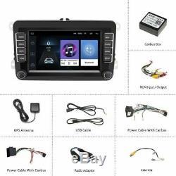 2din Car Gps Android8.1 7 '' Navi Bluetooth Fm Für 5 Vw Golf Polo Passat En