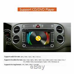 2din DVD Car Audio Android 7.1 Gps Navi Camera For Vw Golf 5 Passat Touran Polo