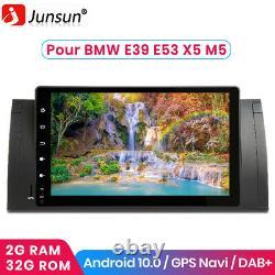2g+32g Android 10.0 2din 9autoradio Gps Navi Bt Wifi Swc For Bmw E39 1996-2003