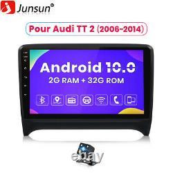 2gb+32gb For Audi Tt Mk2 8j 2006-2014 Autoradio Android 10 Navi Gps Dab+ Camera
