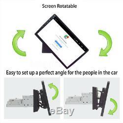4-core 10.1 '' 2g + 32g Car Audio Android 8.0 Gps Navi Bluetooth Wifi Dab + Rotation