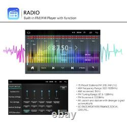 7 2 Din Autoradio Android 8.1 Gps Navi Wifi Bt For Vw Golf Passat Polo Caddy