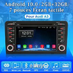 7 Android10.0 Autoradio Bt Gps Navi Dab-cd For Audi A3 S3 Rs3 8p 8v 8pa 2-32gb