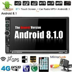 7 Android 8.1 Audio 2 Din Navigation Navi Bluetooth DVD Player Wifi Gps Fm