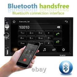 7 Android 8.1 Autoradio Stereo 2 Din Gps Wifi Navi Fm Screen Bluetooth Tactile