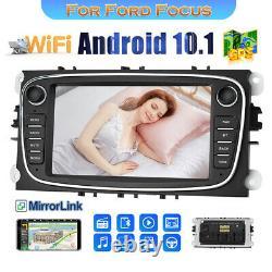 7'' Android 8.1 Gps Stereo Radio Navi For Ford Focus Mondeo Galaxy II Kuga