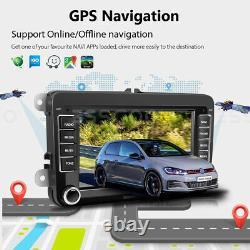 7 Autoradio Android 9.1 Gps Navi Rds - Camera For Vw Golf 5 Variant Passat Polo