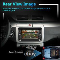 7 Autoradio Android Rds Gps Navi Dab Box For Vw Golf 5 6 Passat Touran Polo
