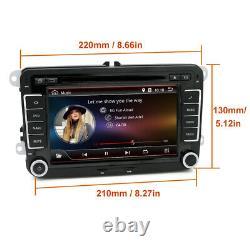 7 Autoradio Gps Navi DVD Fm Bt For Vw Polo Volkswagen Passat Golf 5 6 Caddy