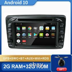 7 Car Gps Navi Android 10 For Mercedes Benz E-w210 W209 W168 W163 Viano