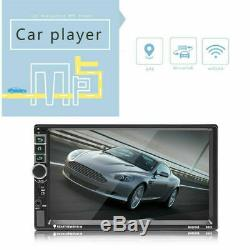 7 Double 2 Din Car Audio Android 8.1 Quad Core Gps Navi Wifi 1080p Camera 3g / 4g