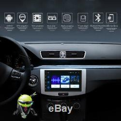 7 Double 2din Android 8.1 Wifi Gps Navi Stereo Mp5 Touch Screen Radio