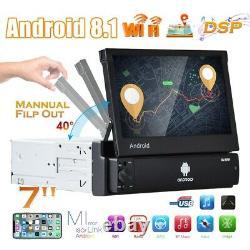 7 Hd Autoradio 1 Din Android 8.1 Bluetooth Gps Navi Wi
