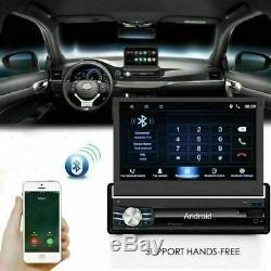 7 Single 1din Car Android 6.0 Gps Navi Bluetooth Sd Wifi Usb Reader + Cam